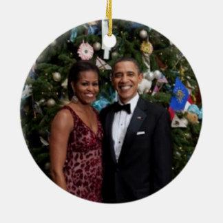 Barack & Michelle 2010 - Ornament