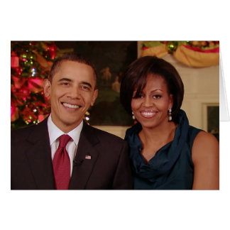 Barack & Michelle 2010WA-Greeting Card