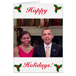 Barack & Michelle 2011WA-Greeting Card