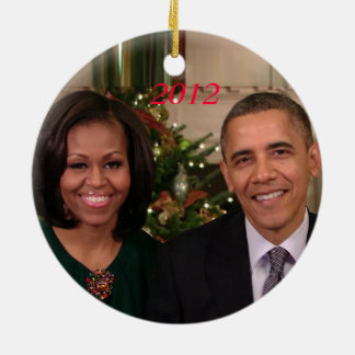 Barack & Michelle 2012 - Ornament