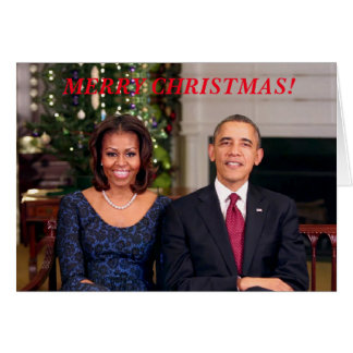 Barack & Michelle 2013WA-Greeting Card
