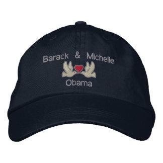 """Barack & Michelle """"Lovebirds"""" Embroidered Baseball Cap"""