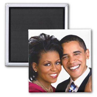Barack & Michelle Obama Magnet
