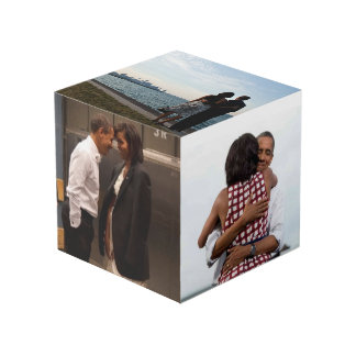 Barack & Michelle Obama - Photo Cube