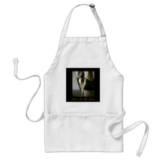 BARACK & MICHELLE OBAMA:  TOAST OF THE TOWN ADULT APRON