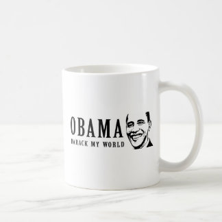 Barack my world Obama Bumper 7 Coffee Mugs