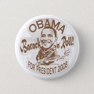 Barack N' Roll Homeboy Button