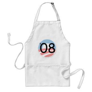 Barack Obama 08 Campaign Election Adult Apron