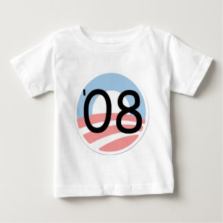 Barack Obama 08 Campaign Election Baby T-Shirt