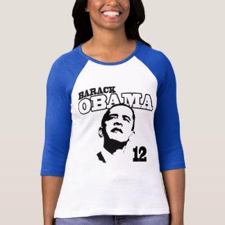 Barack Obama '12 Ladies Retro Shirt