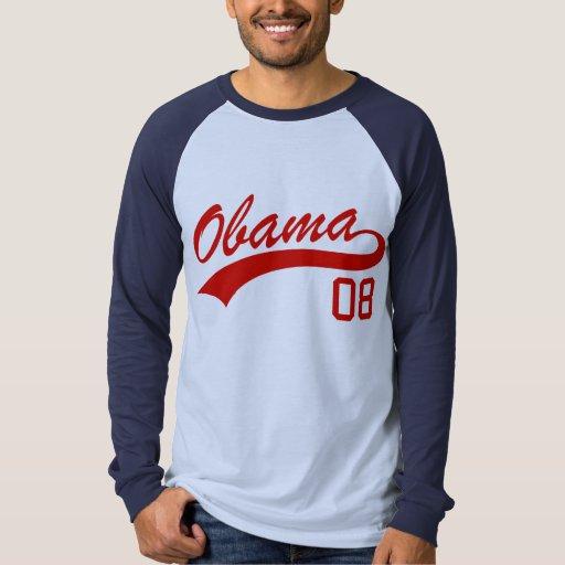 Barack Obama 2008 Jersey T-Shirt