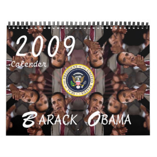 Barack Obama 2009 Commemorative Wall Calendar
