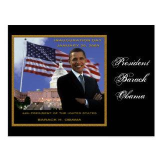 Barack Obama 2009 Postcard