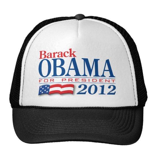 Barack Obama 2012 Apparel Trucker Hat