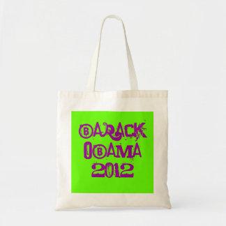 BARACK OBAMA 2012 CANVAS BAGS