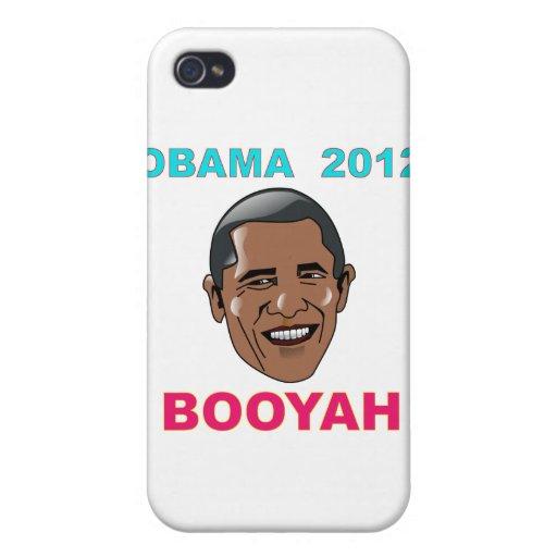 Barack Obama 2012 BOOYAH iPhone 4 Protector