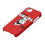 Barack Obama 2012 casos del iPhone 5 (del rojo) iPhone 5 Fundas