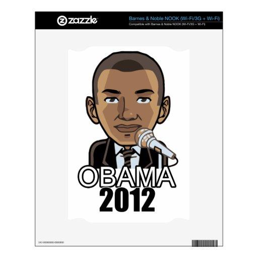 Barack Obama: 2012 Election Skins For The NOOK
