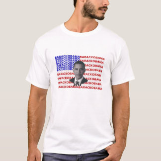 Barack Obama 2012 Flag T-Shirt