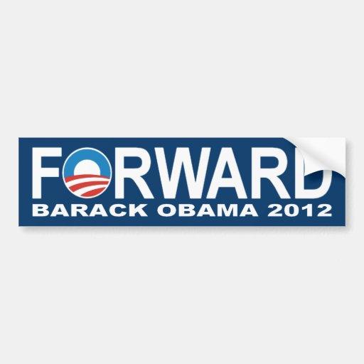 Barack Obama 2012 'Forward' Bumper Sticker