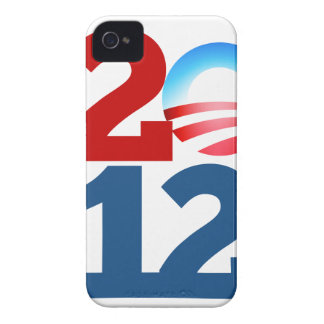 Barack Obama 2012 iPhone 4 Case-Mate Coberturas