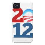 Barack Obama 2012 iPhone 4 Case-Mate Cárcasa