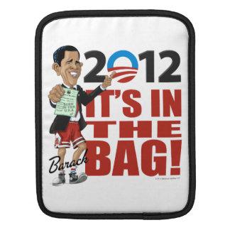 "Barack Obama 2012 ""It's In The Bag"" Campaign iPad  iPad Sleeves"