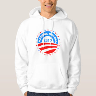 Barack Obama 2012 Logo Design Hoody
