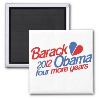 Barack Obama 2012 Magnet