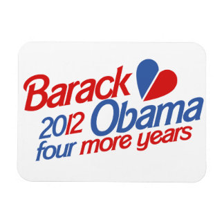 Barack Obama 2012 Magnet