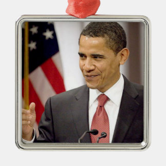 Barack Obama 2012 Metal Ornament