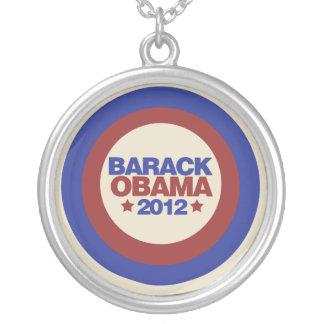 Barack Obama 2012 Round Pendant Necklace