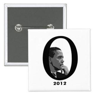 Barack Obama 2012 Pin