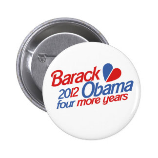 Barack Obama 2012 Pin Redondo De 2 Pulgadas