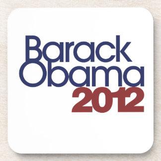 Barack Obama 2012 Posavasos De Bebida