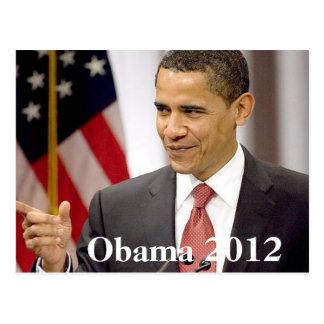 Barack Obama 2012 Postal