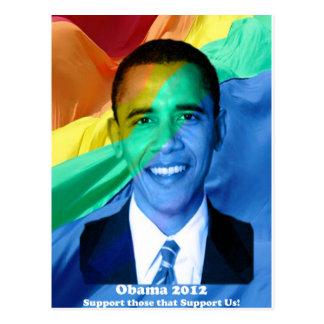Barack Obama 2012 Postcard