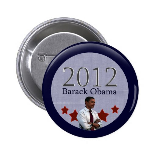 Barack Obama 2012 Presidential Election 2 Inch Round Button