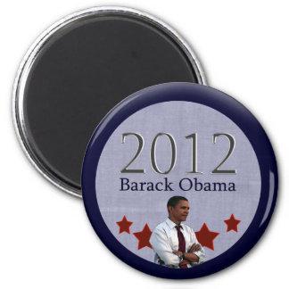 Barack Obama 2012 Presidential Election Refrigerator Magnets