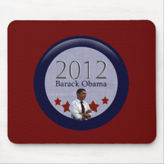 Barack Obama 2012 Presidential Election Mouse Pad