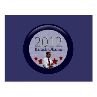Barack Obama 2012 Presidential Election Postcard