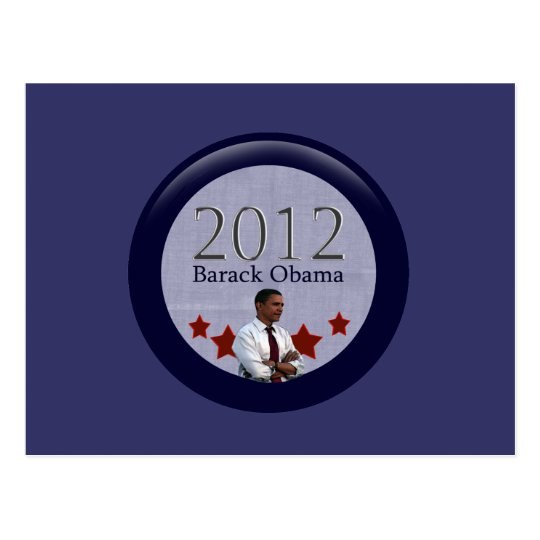 Barack Obama 2012 Presidential Election Postcard