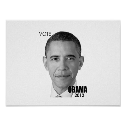 Barack Obama 2012 Presidential Election Poster