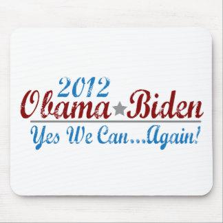 barack obama 2012 re-elect mouse pad