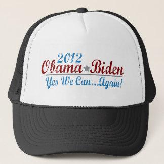 barack obama 2012 re-elect trucker hat
