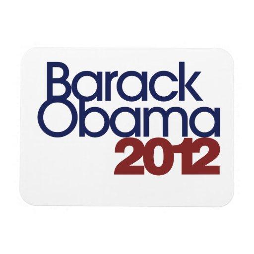 Barack Obama 2012 Rectangular Photo Magnet