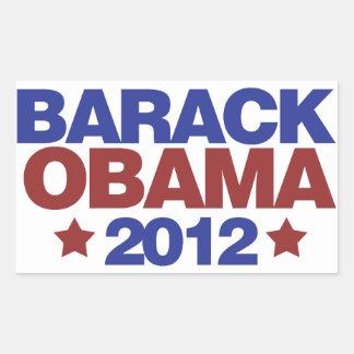 Barack Obama 2012 Rectangular Sticker
