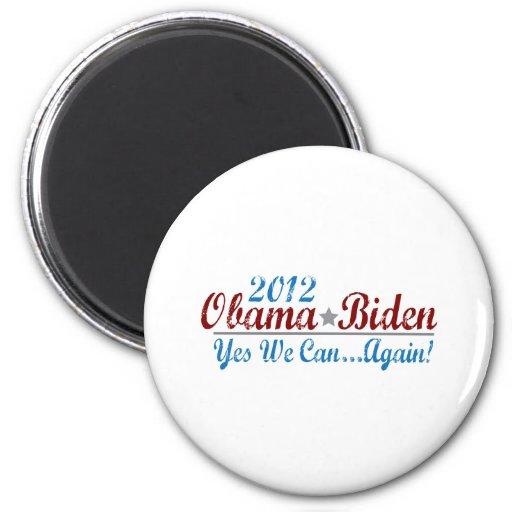 Barack Obama 2012 reelige Iman De Frigorífico