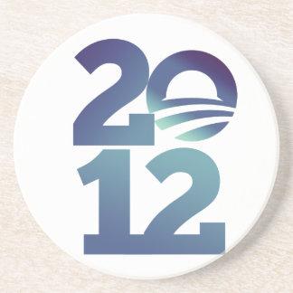 Barack Obama 2012 Sandstone Coaster