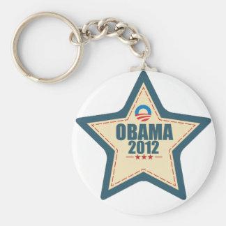 Barack Obama 2012 Star Vote Keychain